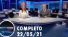 Assista à íntegra do RedeTV News de 22 de maio de 2021