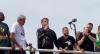 Bolsonaro participa de passeio de moto com apoiadores