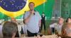 Bolsonaro ressalta o papel das Forças Armadas em seu governo