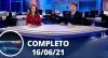 Assista à íntegra do RedeTV News de 16 de junho de 2021