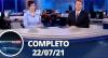 Assista à íntegra do RedeTV News de 22 de