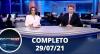 Assista à íntegra do RedeTV News de 29 de julho de 2021