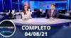 Assista à íntegra do RedeTV News de 04 d agosto de 2021