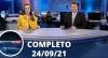 Assista à íntegra do RedeTV News de 24 de setembro de 2021