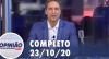 Opinião no Ar (23/10/2020) | Completo