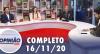 Opinião no Ar (16/11/2020) | Completo