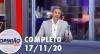 Opinião no Ar (17/11/2020) | Completo