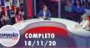 Opinião no Ar (18/11/2020) | Completo