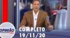 Opinião no Ar (19/11/2020) | Completo