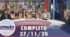 Opinião no Ar (27/11/2020) | Completo