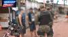 Pai de rapaz abordado tenta atrapalhar ação policial