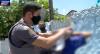 Traficante esconde drogas no lixo e foge de bicicleta