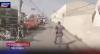 Pinote à pé: bandido salta de carro no meio do trânsito e sai correndo