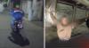 PERSEGUIÇÕES: Motoqueiro se esconde em casa | Rapaz causa grave acidente