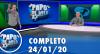 Papo de Bola (24/01/20) | Completo