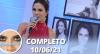 Sensacional (10/06/21) | Completo
