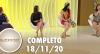 SuperPop: autoestima, aceitação e beleza (18/11/20) | Completo