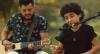 Talento! Filho de Bruno, da dupla com Marrone, solta a voz e encanta