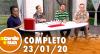 A Tarde é Sua (23/01/20) | Completo