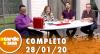 A Tarde é Sua (28/01/20) | Completo