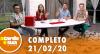 A Tarde é Sua (21/02/20) | Completo