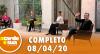 A Tarde é Sua (08/04/20) | Completo