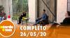 A Tarde é Sua (26/05/20) | Completo