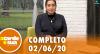 A Tarde é Sua (02/06/20) | Completo