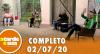 A Tarde é Sua (02/07/20) | Completo