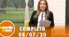 A Tarde é Sua (08/07/20) | Completo