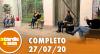 A Tarde é Sua (27/07/20) | Completo