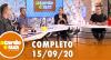 A Tarde é Sua (15/09/20) | Completo