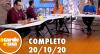 A Tarde é Sua (20/10/20) | Completo