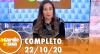 A Tarde é Sua (22/10/20) | Completo