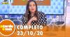 A Tarde é Sua (23/10/20) | Completo