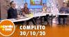 A Tarde é Sua (30/10/20) | Completo