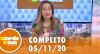 A Tarde é Sua (05/11/20) | Completo