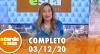 A Tarde é Sua (03/12/20) | Completo