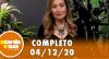 A Tarde é Sua (04/12/20) | Completo