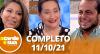 A Tarde é Sua (11/10/21) | Completo