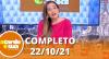 A Tarde é Sua (22/10/21) | Completo