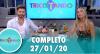 Tricotando (27/01/2020) | Completo