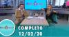 Tricotando (12/02/2020) | Completo