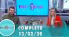 Tricotando (13/02/2020) | Completo