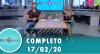 Tricotando (17/02/2020) | Completo