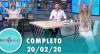 Tricotando (20/02/2020) | Completo
