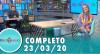 Tricotando (23/03/2020) | Completo