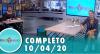 Tricotando (10/04/2020) | Completo