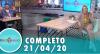 Tricotando (21/04/2020) | Completo