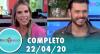 Tricotando (22/04/2020) | Completo